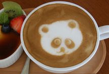 Coffees & Latte Arts / #coffee #latte #art / by Sofija Verlova