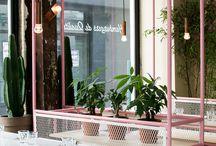 Café steel furniture