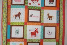 Moje práce pro Deky z lásky. Kids quilts