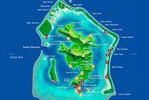 BORA BORA, notre joyau polynésien / L'île de Bora Bora est la destination rêvée d'un voyage romantique en Polynésie. Surprenante par son relief alliant île haute et atoll, on l'appelle Perle du Pacifique pour sa beauté extrême et ses plages paradisiaques.