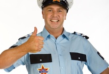 Policeman Ben Loves / Policeman Ben from The Workers  Policeman Ben loves to help his community and to help keep people safe and secure. One way he does this is by directing traffic with his special hand signals.  Policeman Ben Loves: Safety and Responsibility, Leadership, Community Involvement and Team Work