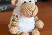 Mathilda, s chrochet sheep