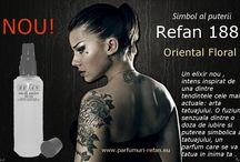 Parfumuri si cosmetica Refan / Parfumuri Refan alternative parfumurilor de marca, la un pret imbatabil. Concentratie foarte mare 20-24%.Produse inovatoare de cosmetica si ingrijire.