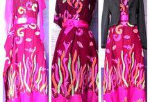 I'd LINE ; airisjazila / Sila boutique hand made batik