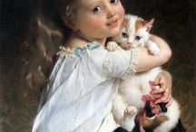 Emile Munier / French academic artist (1840 – 1895)