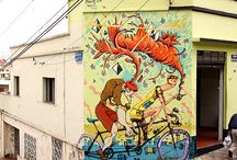 Street-Art / Street-Art around the world. Graffitis, cities, artists and me.