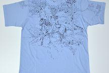 t-shirt handmade / handmade, painting, acrilyc
