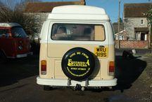 Harvest Moon / Our VW Camper van