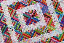 Scrappy/string quilts