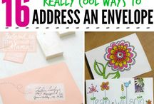 DIY Postcards and envelopes