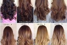 Hair styles/cuts/colours