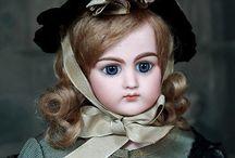 французские старинные куклы