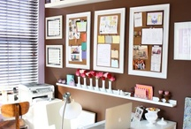 Office Delight / Ideas for organizing my offices, both at work and at home.