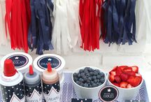 4th of july / Fourth of July ideas, food, party, bbq easy fast 4th of July!