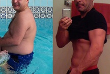 Before and After - Men's Muscle Gain / Before and After Pictures of Men who transformed themselves and gained muscle.