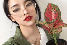 портрет {очки} / googles glasses