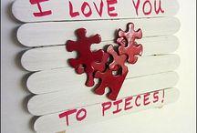 Valentine 'love u'