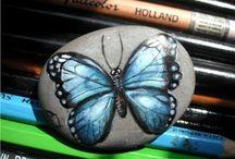 Målade stenar / Stone Art