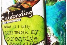 30 Day Journal project with Lisa Sonora