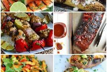 Fire Up the Grill! / Food and Drink recipe ideas for the grill or bbq. Tips, tricks, and ideas for grilling, as well. / by Heather Schmitt-Gonzalez