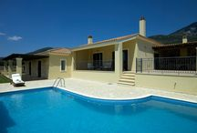 Villa Oliva @ Karavados / Villa Oliva is a two bedroom villa designed in a modest luxury and is an ideal base for your mind and body in the soft color shades.