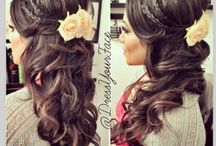 Wedding hair  / Wedding
