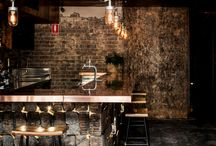 Bar/restaurant ideas, interiors