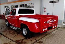 Chevrolet C-10 / Fotos de Pick-ups dos modelos C-10, D-10, A-10, C-14, C-15 com caçambas Stepside ou originais.