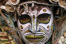 FP - History Body Painting / History of face and body painting/tattooing