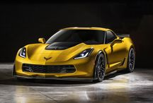 2015 Corvette Z06 / The all new, C7 Z06 is now available as a removable roof coupe or as a convertible.  It is also available with a 7 Speed Manual Transmission or a 8 Speed Automatic Transmission! / by Kerbeck Corvette