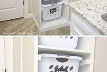 Laundry room organization small