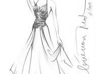 Desenho de moda / Moda feminina