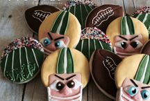 Sports Themed Cookies / We create custom cookies for your favorite team!
