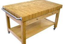Custom Wood Chef Cart