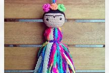 Frida y pompones ❤️