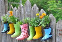 Jardines preciosos y cositas para el jardín / En este tablón podrás encontrar miles de ideas para tu jardín, artículos prácticos para jardín, y jardines preciosos.   Cuidar del jardín... un hobie, una forma de vida, algo precioso...