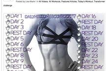 Summer challenge / Kalendarz