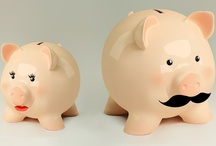 I Love Piggy Banks. I just Do. / Seriously. They're all over the house. And yet, I have no savings. / by Lauren Van Leuven