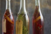 infusing, extracts and essential  oils