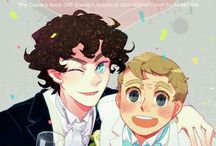 SHERLOCK John x Sherlock