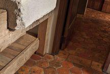 terracota floor