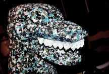Costume - Godzilla / My husband made this for our youngest 2 years ago, it is made out of carpet foam, paint, styrofoam, silicone, and lots and lots of love ;D