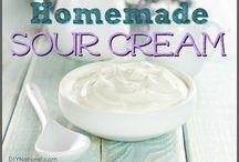 Home made sour cream