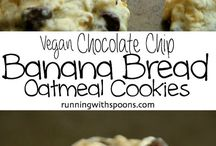 Banana bread oatmeal cookies