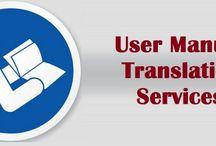 User Manual translation Services