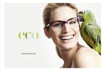 Eco - born recycled / Recycle, produce, plant and donate! De ekologiska bågarna från Eco säljs med ensamrätt av Synsam i Sverige.