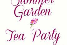 Summer Garden Tea Party