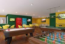 Recreational Rooms