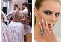Runway nails / Runway inspiration #nailart #nails