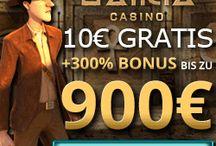 Casino Bonus / Die besten Boni für Casino Spieler: Einzahlungs-Boni, Bonus ohne Einzahlung, Casino Freispiele, Bonus Codes un Gutscheine.